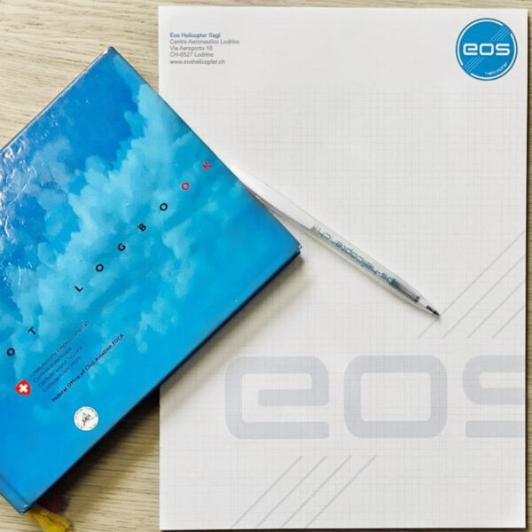 Eos Helicopter Academy Note book